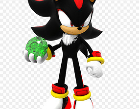 3D print model Shadow the Hedgehog