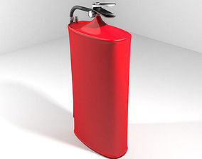 3D model Fire Extinguisher - Type 2