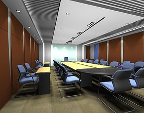 3D model business Luxury architectural Hall Lobby
