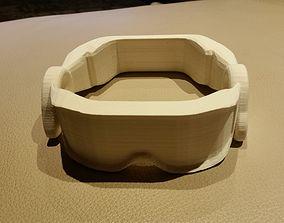 Futuristic VR glasses 3D printable model