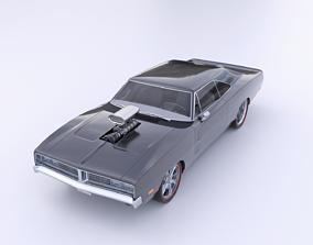 3D model Dodge Charger 1969 RT ram