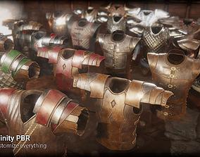Armor 1 3D asset