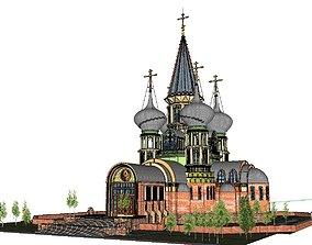 Architecture-Religion-God-Culture-Temple-066 3D model