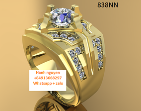 3D bracelets - jewelry 3d - 3d finger ring boat