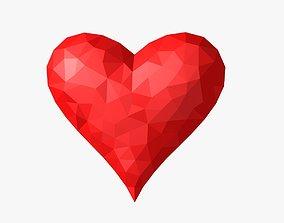 Heart 3D asset animated