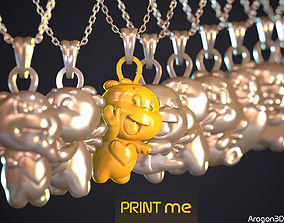 STICKER PENDANTS PACK 3D printable model
