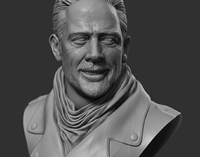 Negan - The Walking Dead Head Bust 3D printable model