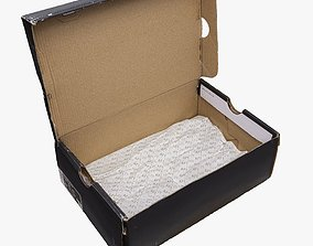 001222 Box for sneakers Nike Air force 1 3D model