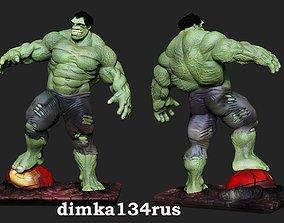 hulk stl marvel comics 3dstatue bodibilding