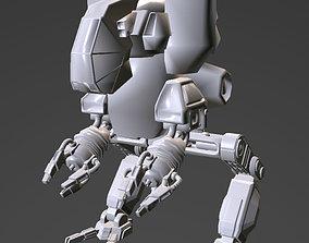 3D asset robot walker