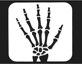 HAND LOGO 02 3D model