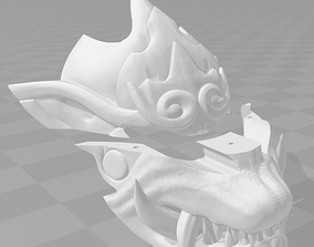 Odogaron mask 3D printable model