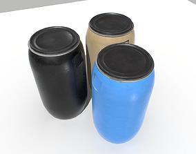 3D model Plastic Barrel 3
