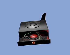 DVD player 3D asset