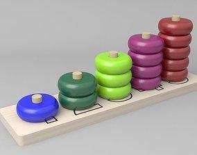 3D model 5 Piramid Toy