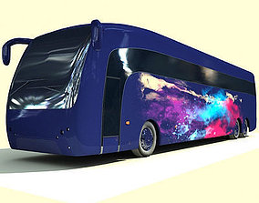 truism Galaxy Color Splash Bus 3D