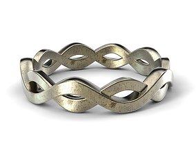 3D print model together Wedding ring