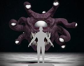 Beholder - DnD Monster - Single Pose 3D printable model