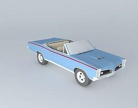 1967 Pontiac GTO Convertible 3D model