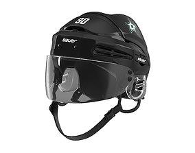Hockey Helmet Dallas Stars 3D