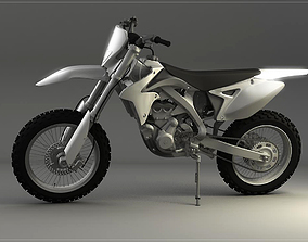 3D Dirt Bike vehicle