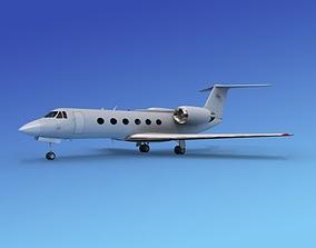 Gulfstream IV Bare Metal 3D