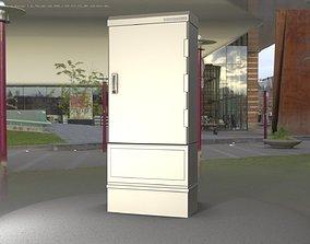 Electrical Distribution Cabinet 56 3D asset