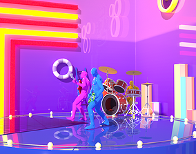 3D Music stage