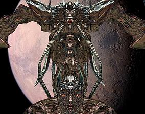 3D model animated Chaos monster