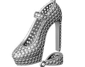 3D printable model Stiletto Women Shoe