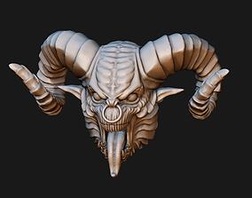 3D printable model Demon Head