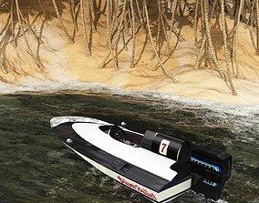 3D model Outboard Racer Studio Max