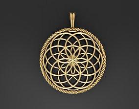 Seed Of Life Pendant 3D printable model