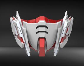 3D printable model Unicorn Custom Mask Fan Art