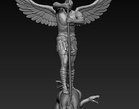 the Archangel 3D printable model blessed