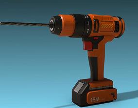 Drill 3D asset