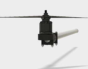 16mm motor mount 3D print model