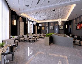 Modern Restaurant 3D picture