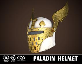 3D model realtime Paladin Helm