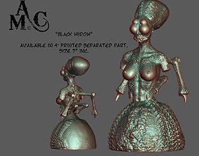 Black Widow 3D print model