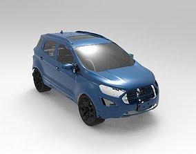 2020 FORD ECOSPORT TITANIUM 3D Scan Data 3D model3D print