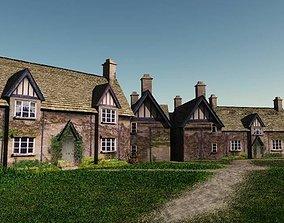 Winchcombe Cottage 3D asset