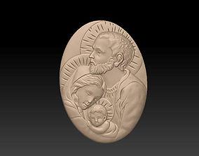 3D print model Family of Jesus
