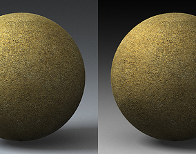 Sand Landscape Shader 051 3D model