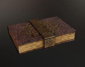 3D asset realtime Old Book