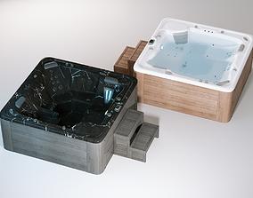 3D Jacuzzi Hot Tub
