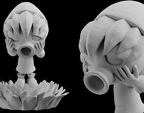 Deku Link Majoras Mask Statue 3D print Zelda