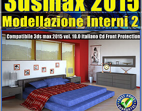 3ds max 2015 Modellazione Interni 2 v 10 cd