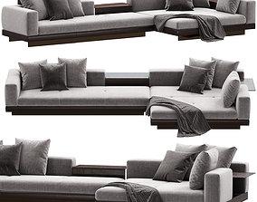 3D model Minotti Connery Sofa