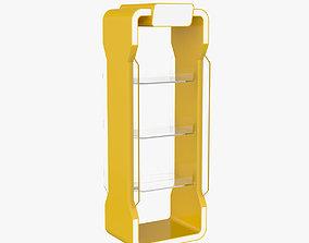 Stand Plastic Glass 3D
